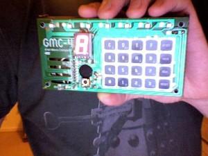 GMC-4 4-bit computer by Gakken